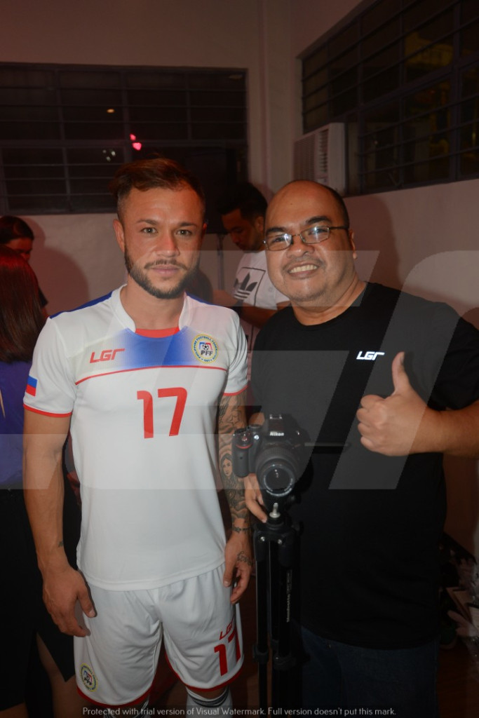 Azkals 2015 Kit Launch | LGR | Arie Roque and Stephan Schrock