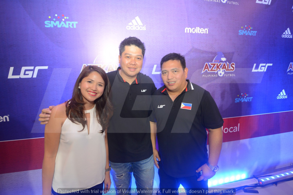 Azkals 2015 Kit Launch | LGR | Rhayan and Eunice Cruz & Dan Palami