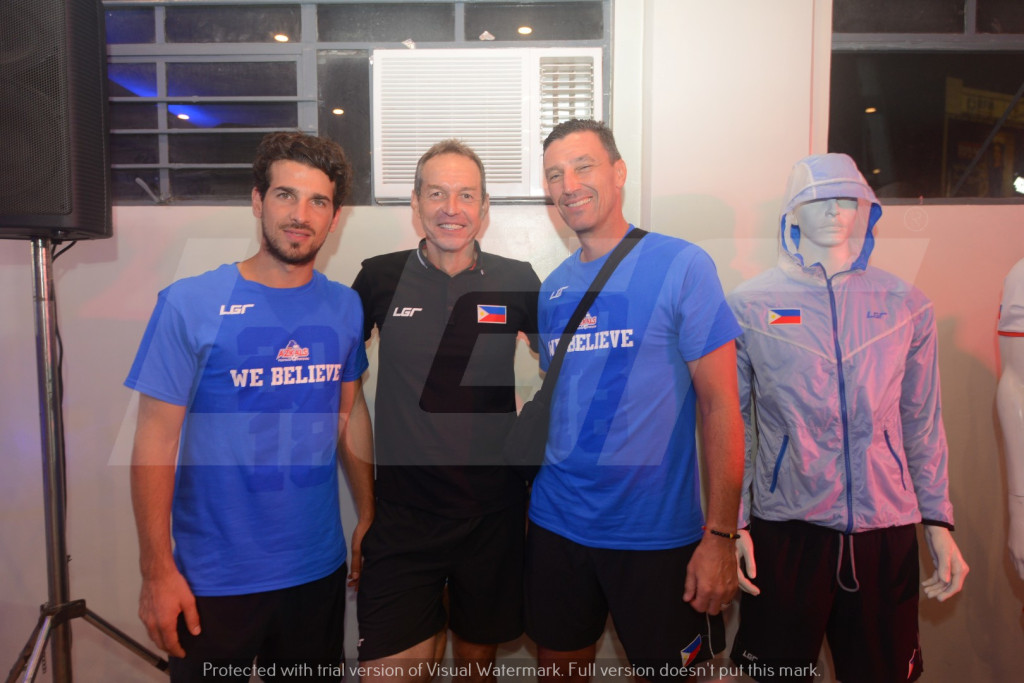 Azkals 2015 Kit Launch | LGR | Azkals Team Coaches
