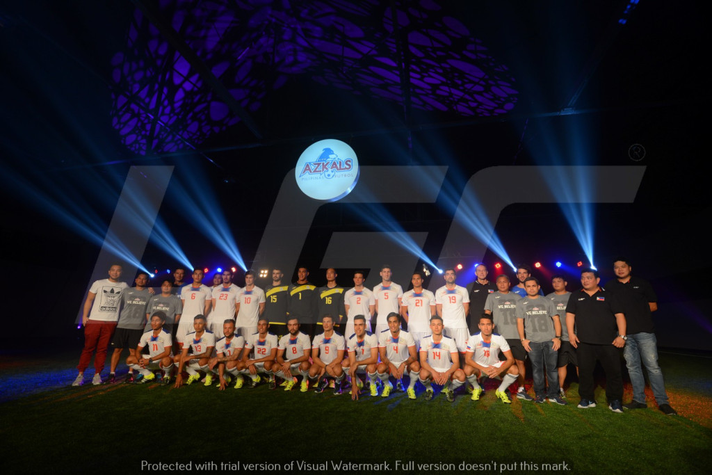 Azkals 2015 Kit Launch | LGR |