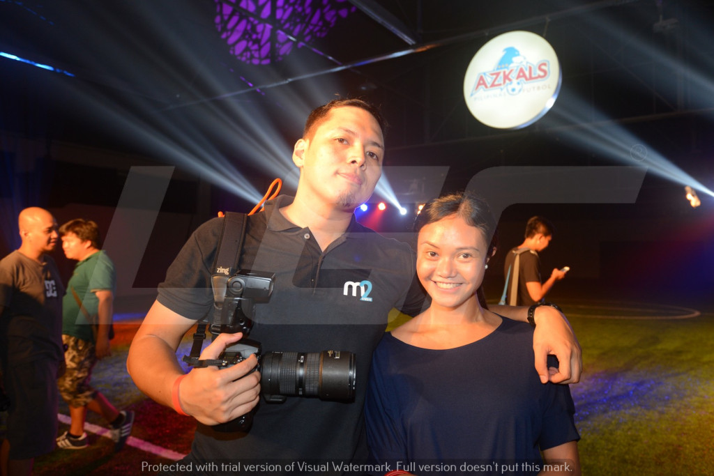 Azkals 2015 Kit Launch | LGR | m2studio.biz Michael Mariano and Zein Abubakar